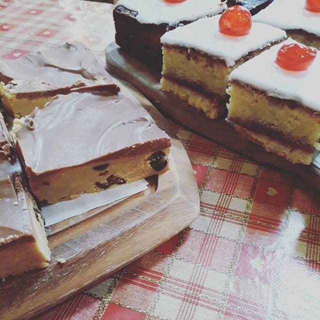 #peanut #cookiedough #bakewell #cake #swithlandcafe