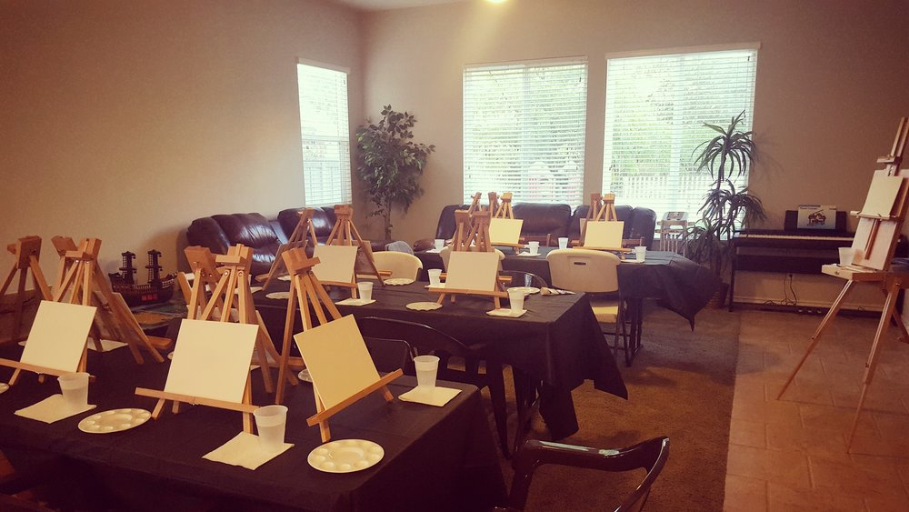 Plan your own Paint Night!