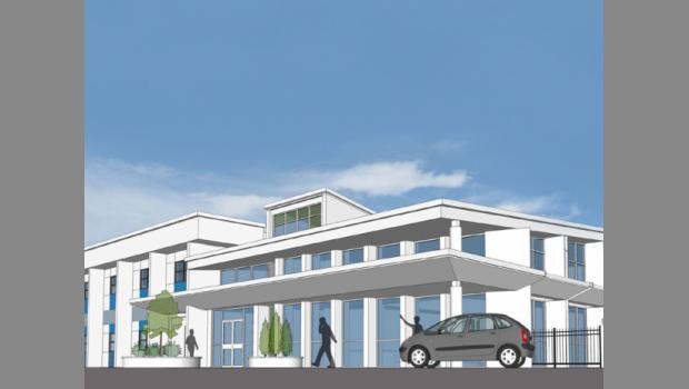 This is a rendering of teen center planned for Springfield by the Boys & Girls Clubs of Northeast Florida.