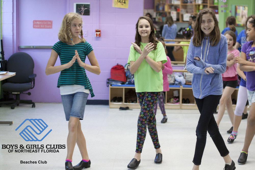 2017: Beaches Dance Team performs for visitors during Boys & Girls Club Week