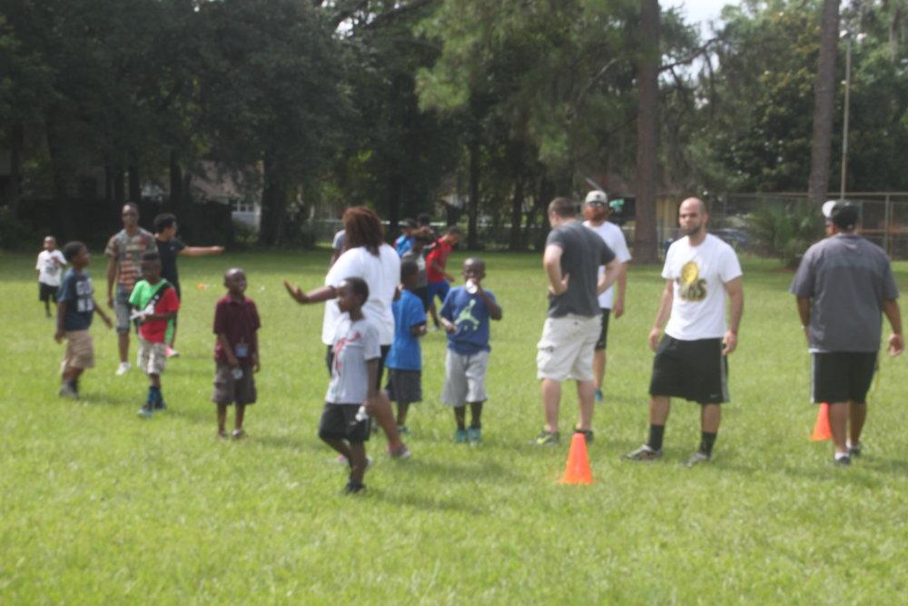 2016: Jacksonville Suns Baseball Clinic