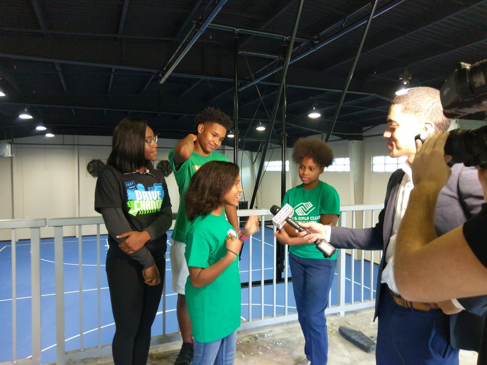Boys & Girls Clubs of Northeast Florida Club members talk about their favorite features of the new Citi Teen Center.