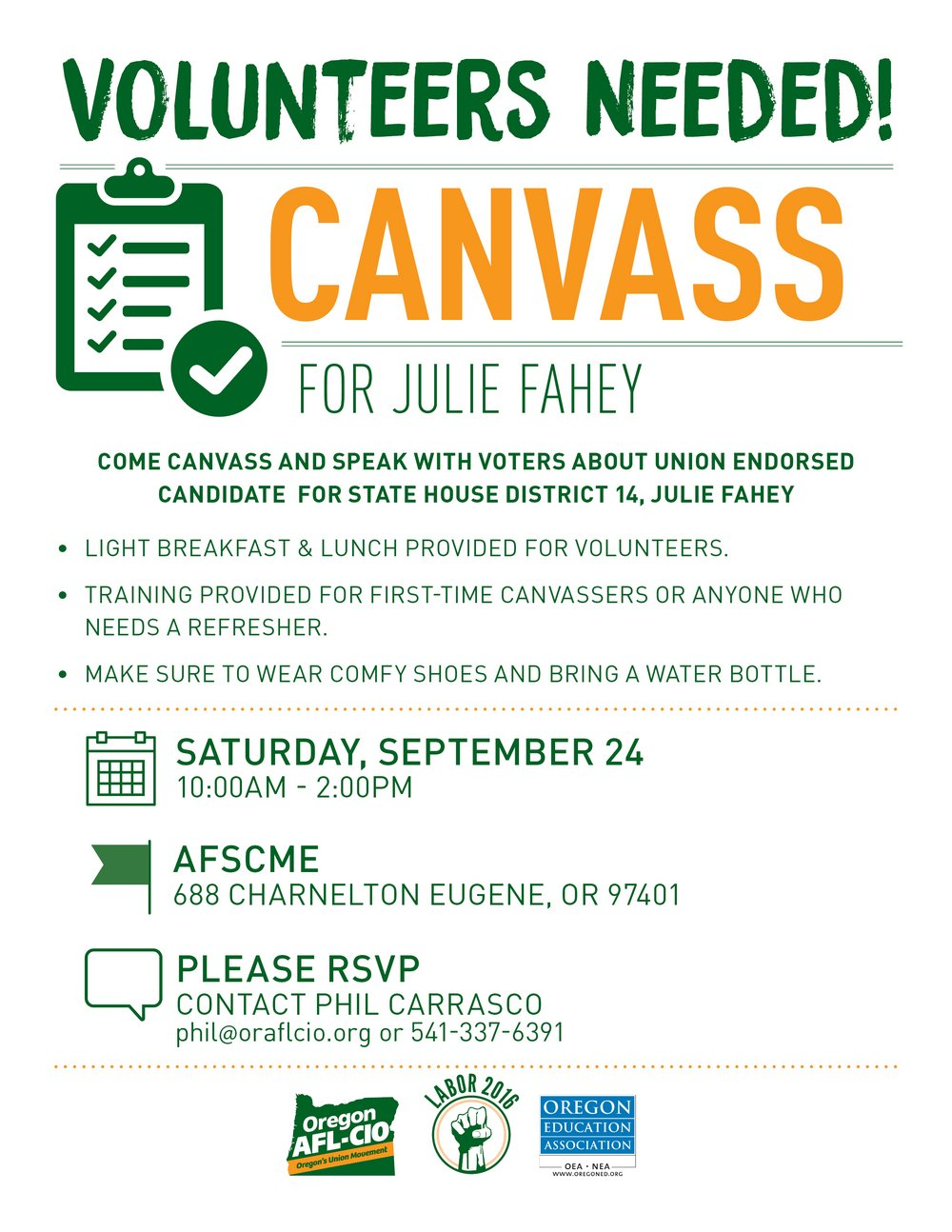 Lane CLC Canvass September 24th Outreach Flier.jpg