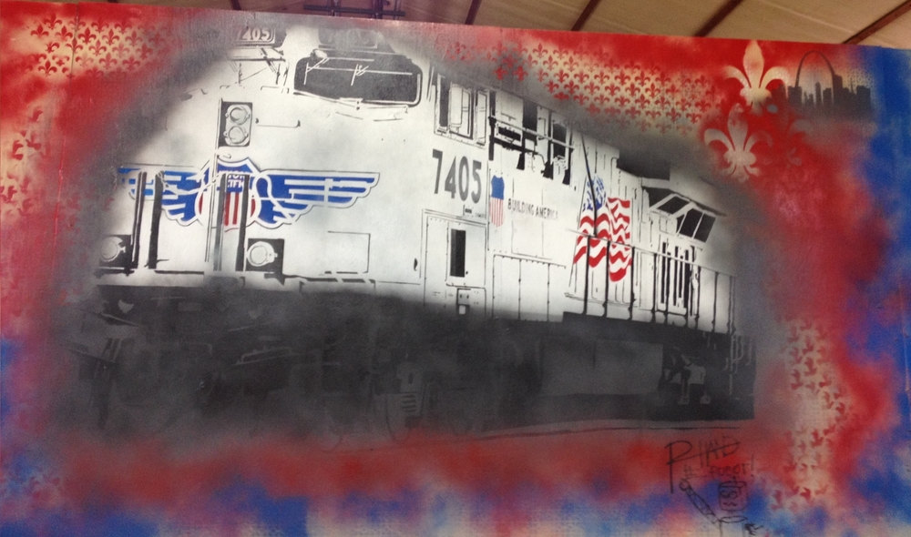 Union Pacific Mural