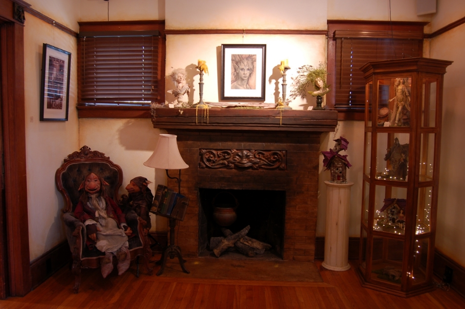 Faery Fireplace