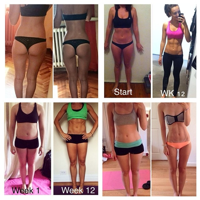 Here are some other girls results using her 12 week guide, pretty amazing!