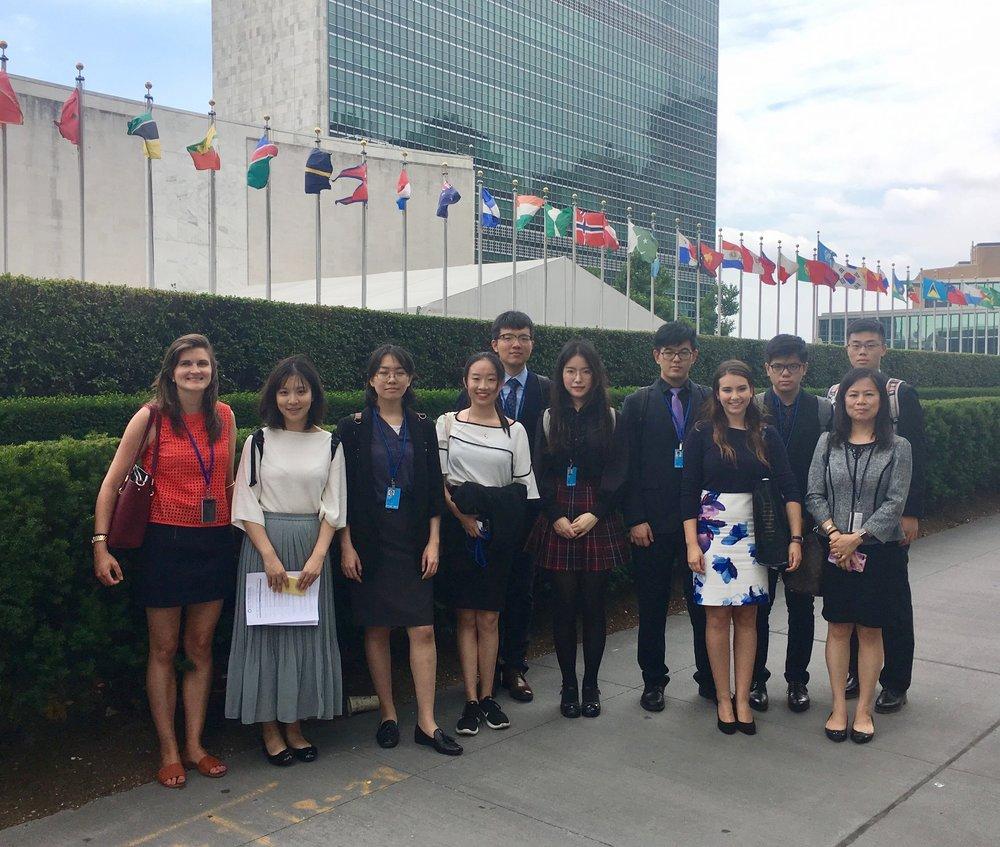 UN Internship -
