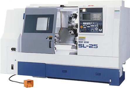 Mori Seiki SL-25 - 2 Axis Turning Center