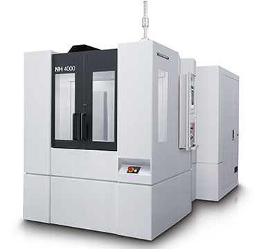 Mori Seiki NH 4000 DCG - Horizontal Machining Center