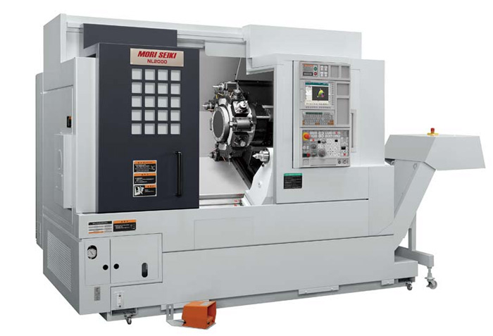 Mori Seiki NL2000 - 4 Axis  Turning Center