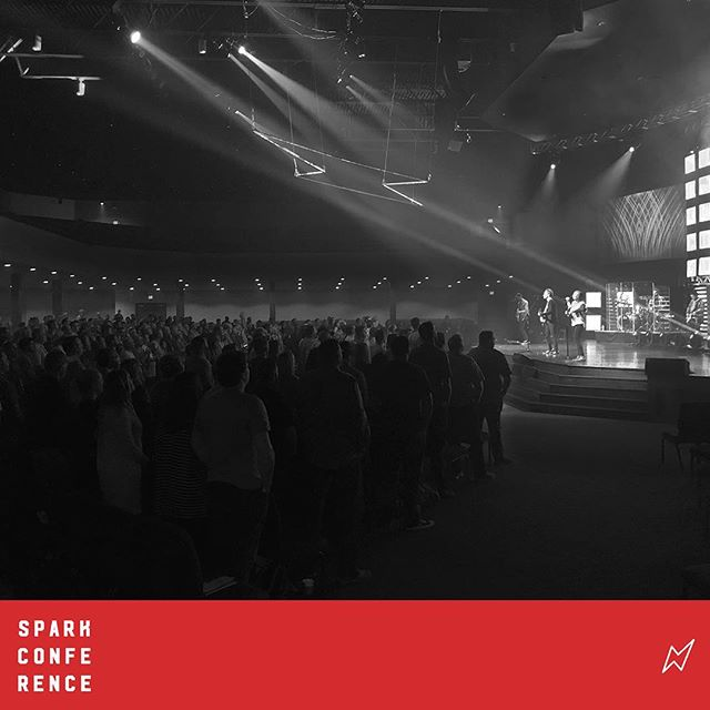 """This is AMAZING GRACE!"" Prepared our hearts for the message the Lord has placed on @ericgeigerinsta this morning @ #sparkconf2017  @fbcwoodstock"