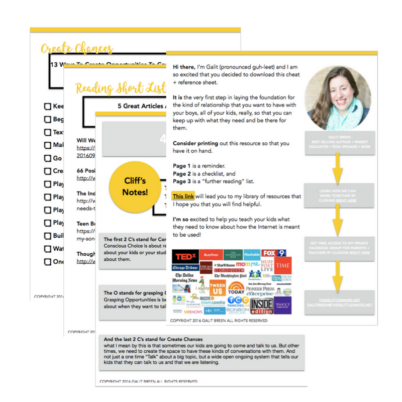 There is a strategy to staying connected with kids. Take a look at this system dubbed 4 Cs + 1 O and be sure to download the FREE connecting checklist and reading short list. So helpful!