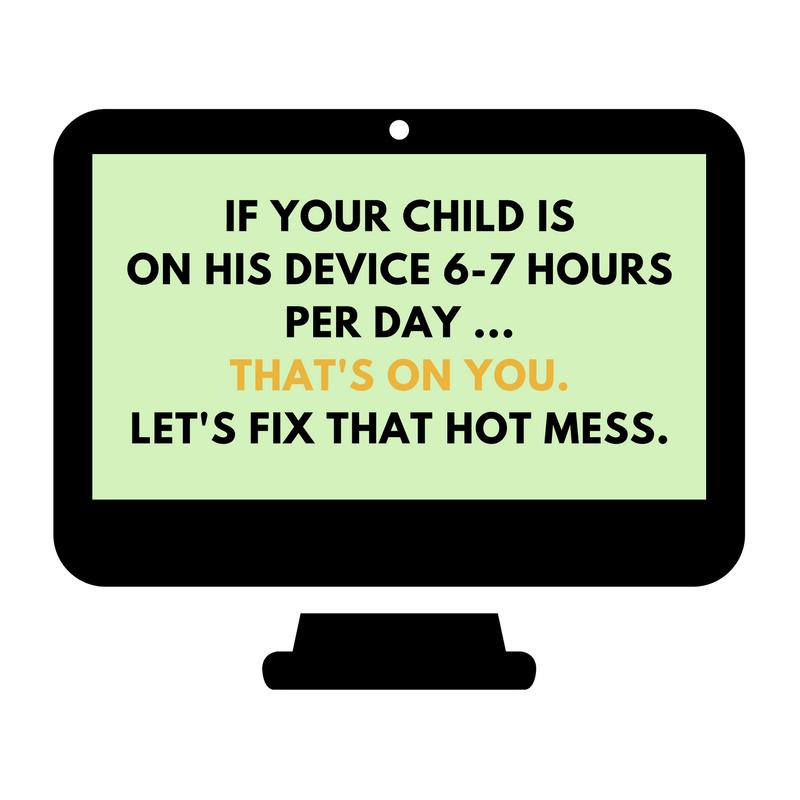 kids always on phone