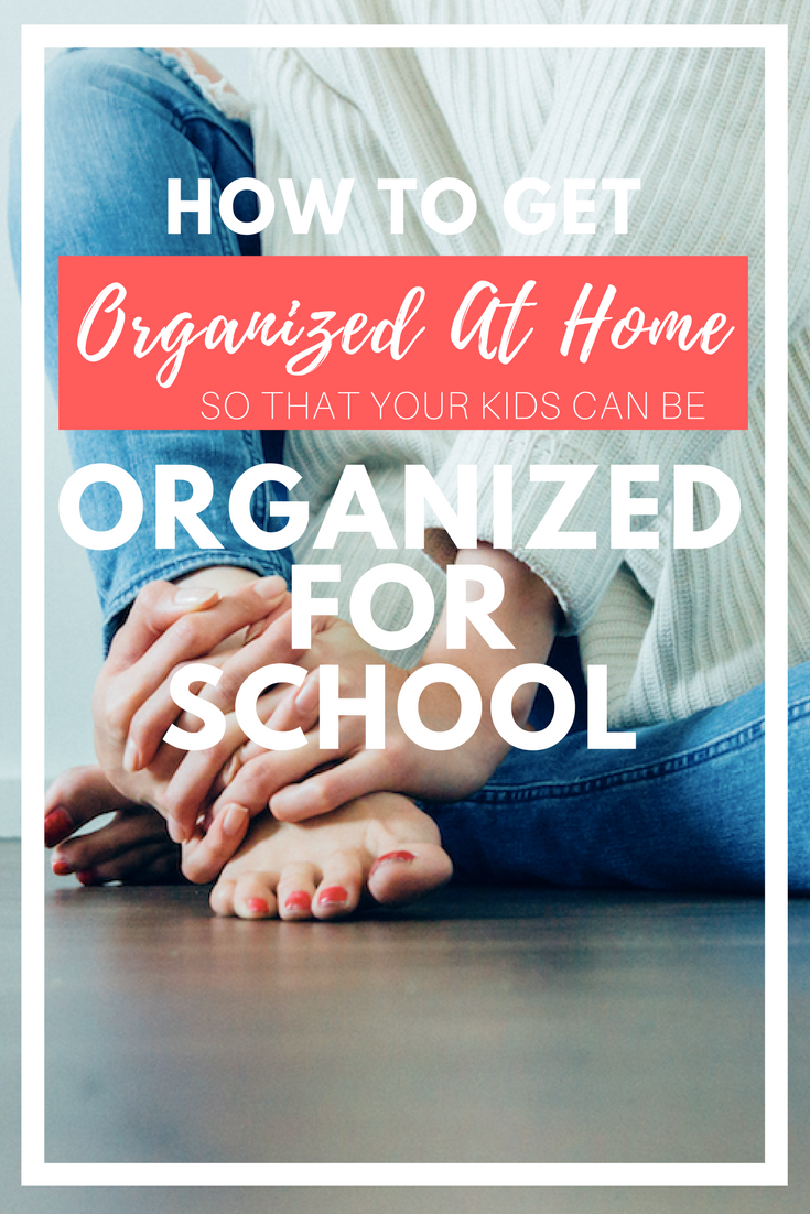 Did you know that your child's ability to get organized for school is directly connected to your ability to get organized at home? It's true! Click through to see the 5 systems to set up at home so that your child can be more organized at school. There is a free download with step-by-step directions!