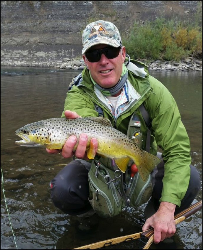 Fly fishing in the San Juans