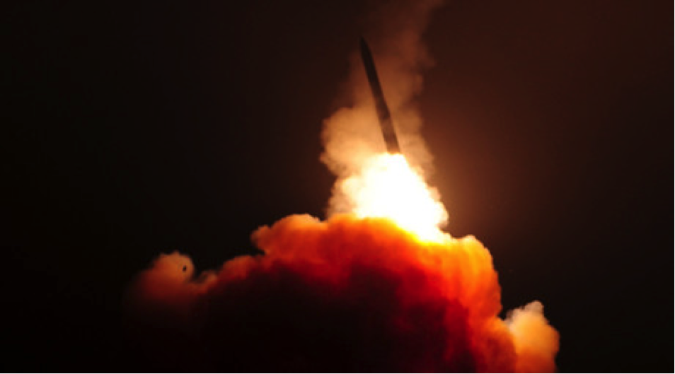 February 2016 ICBM Launch from Vandenberg Air Force Base in California