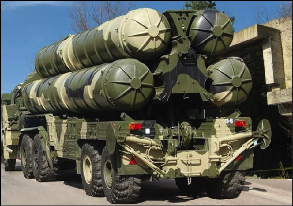 Russian S-400 air defense missiles can take out a fighter jet over 200 miles away in just a matter of seconds.