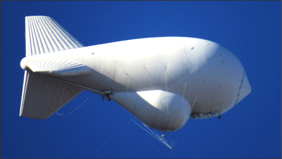 Air Force TARS Surveillance Blimp