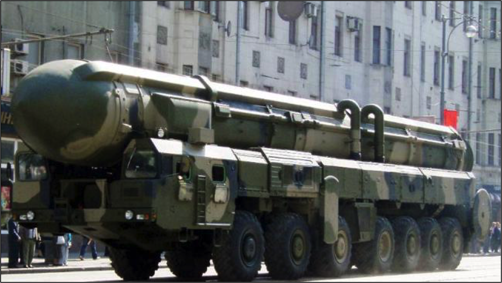 Russian SS-18 Nuclear Missile