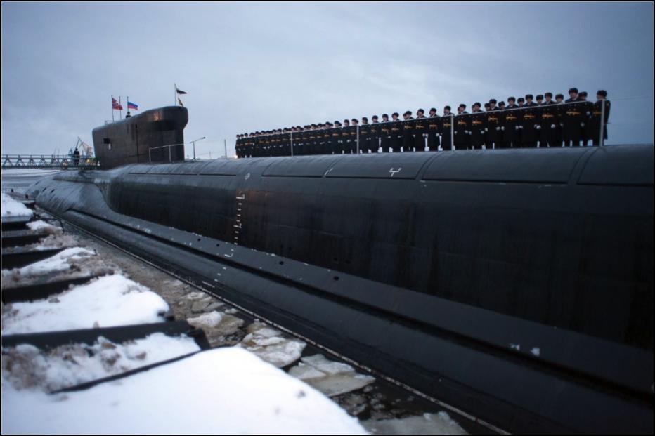 Russian Alexander Nevsky Submarine