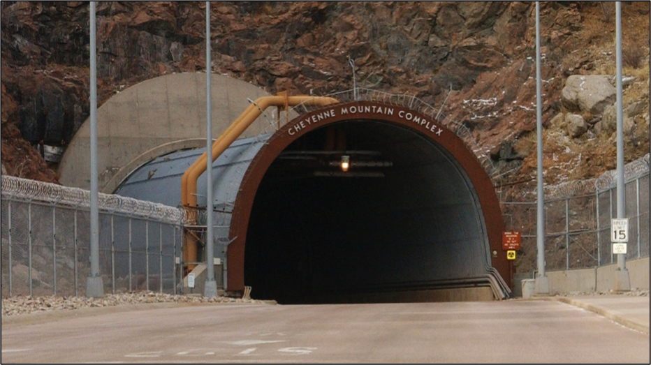 Cheyenne Mountain Nuclear Bunker Entrance
