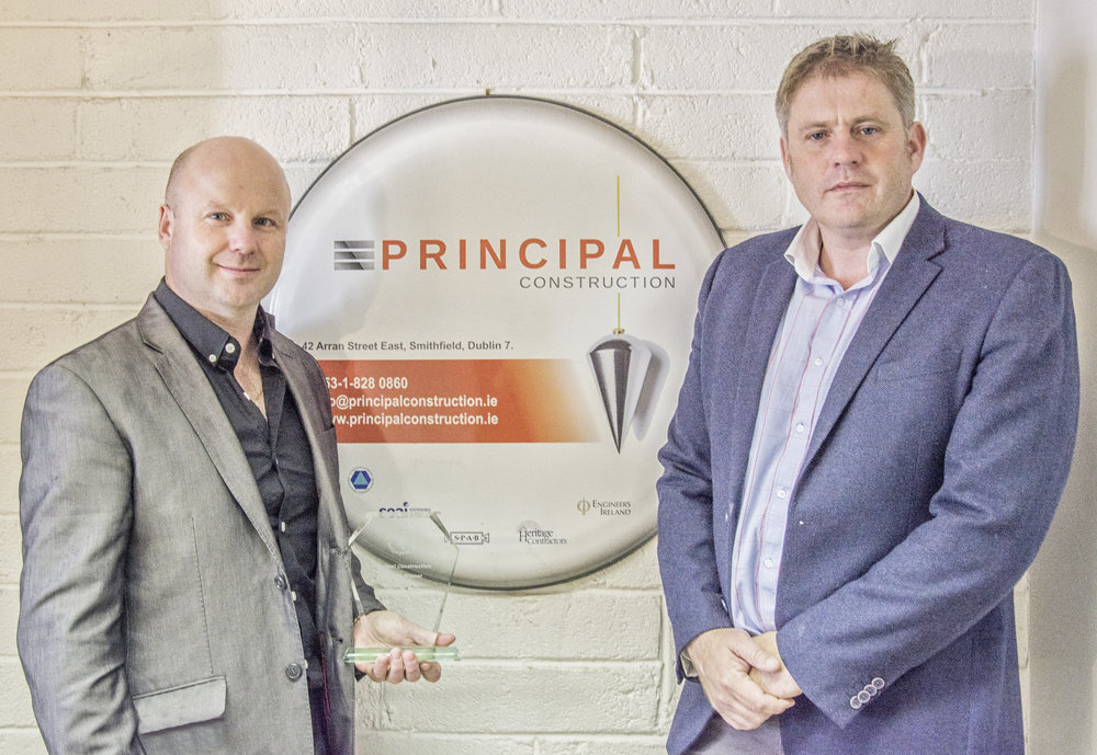 Principal Construction Directors Peter Mahon (Left) and Niall Daly (Right)