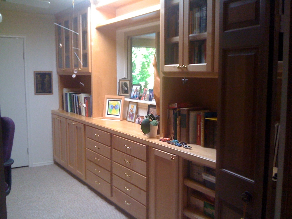 Shaker Bookcase and Storage