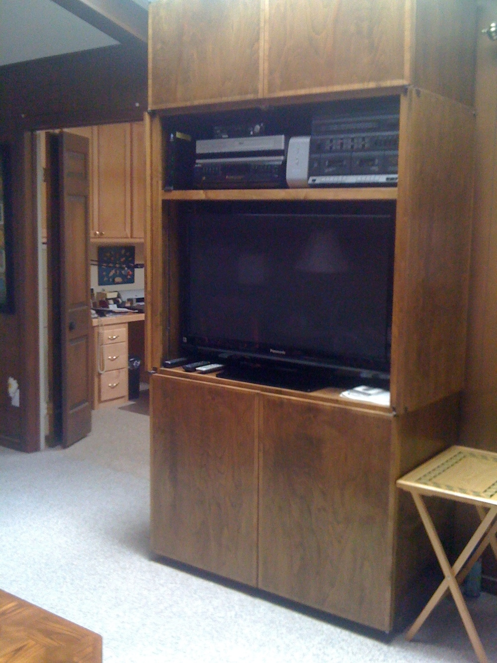 Contemporary TV Cabinet with Storage
