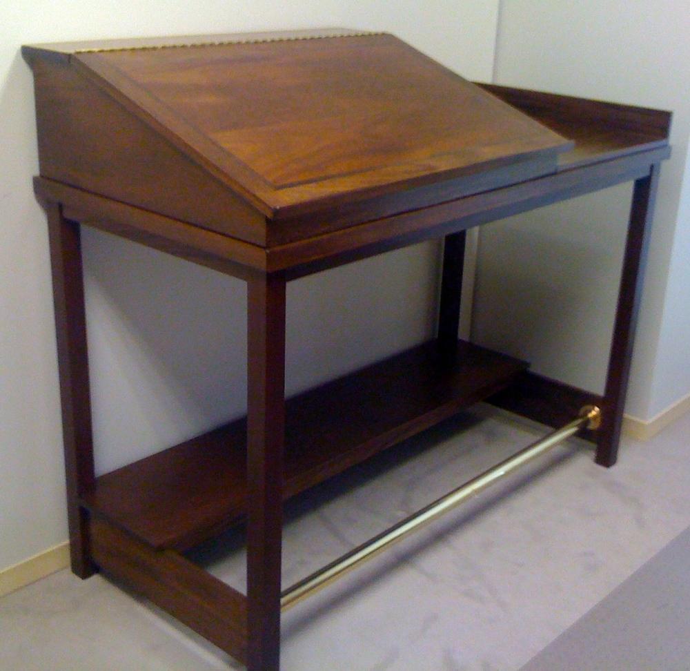 Mahogany Standing Desk