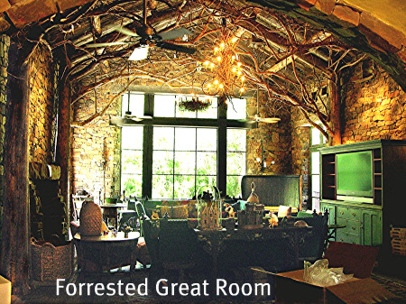 Forrested Great Room
