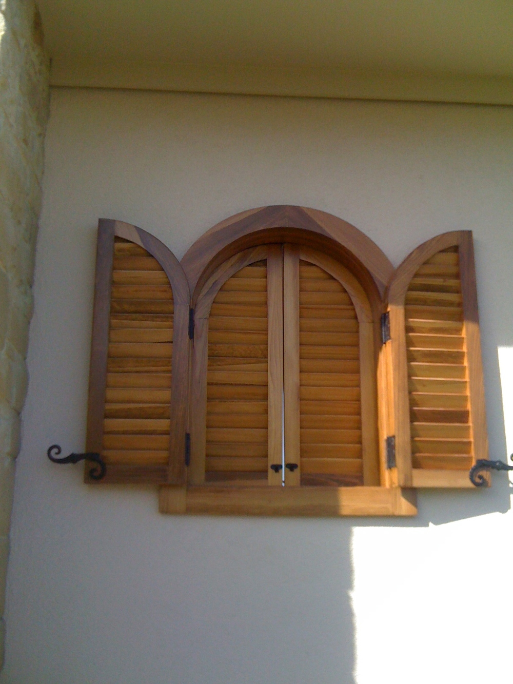 Curved Cabana Shutters