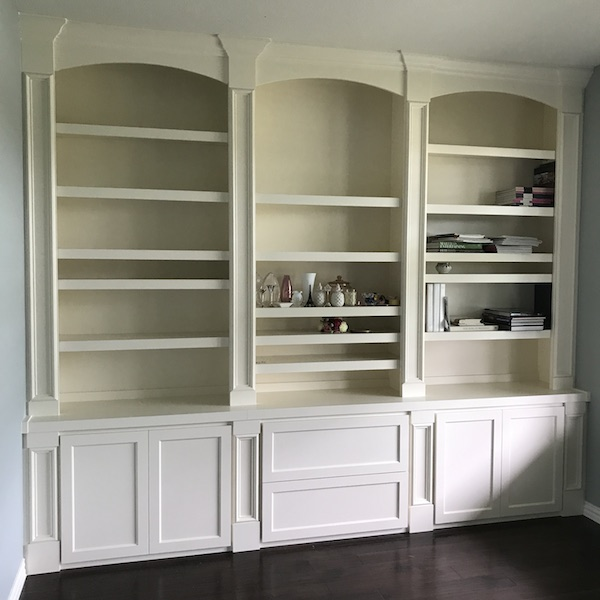 Transitional Shaker Bookcase