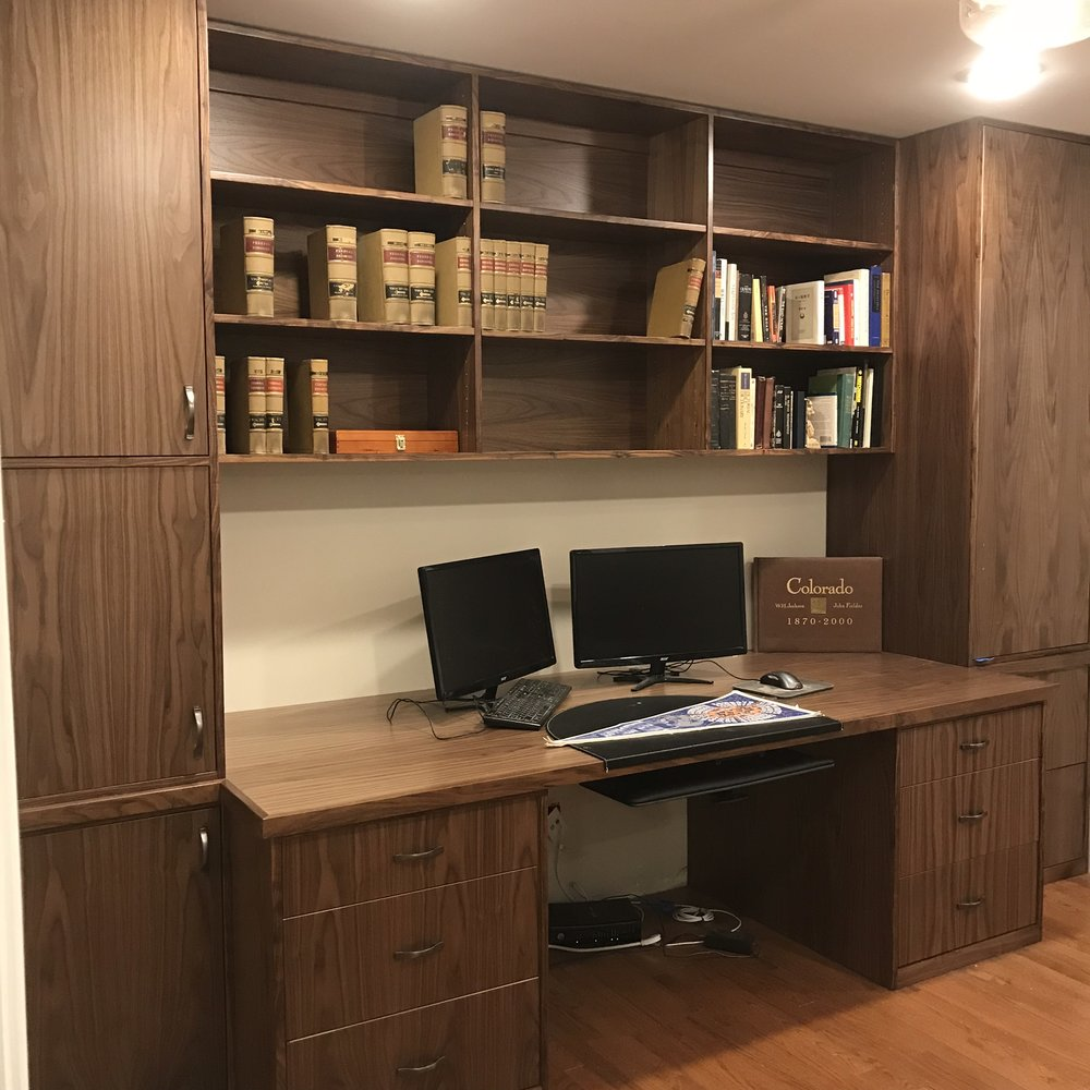 Walnut Home Office