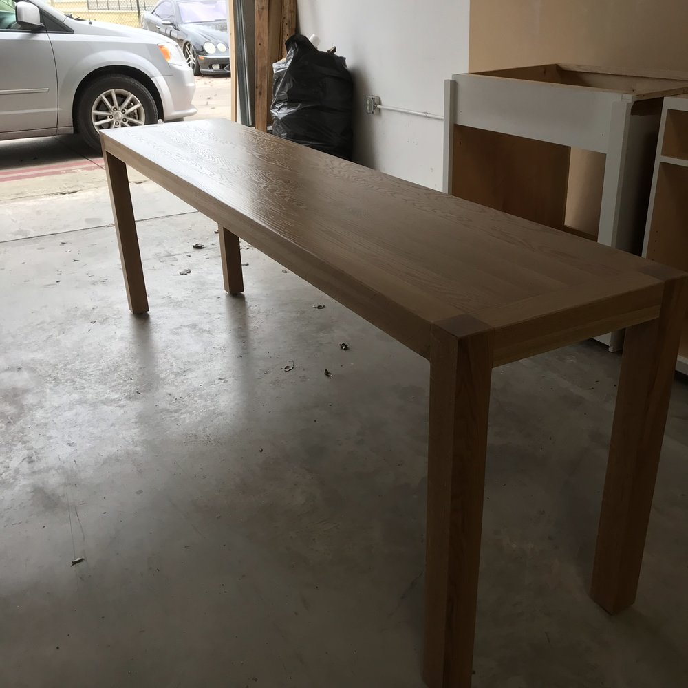 Parsons Sofa Table