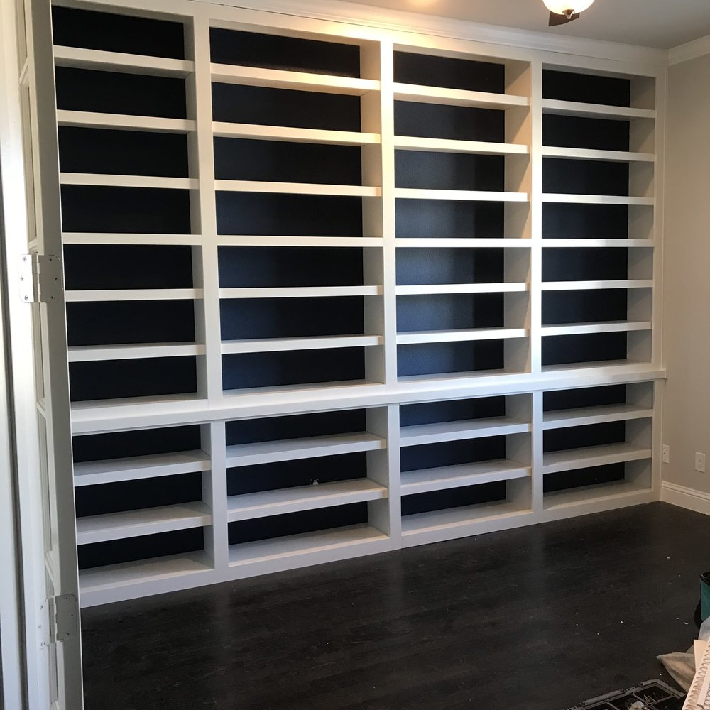 Painted Contemporary Bookcase