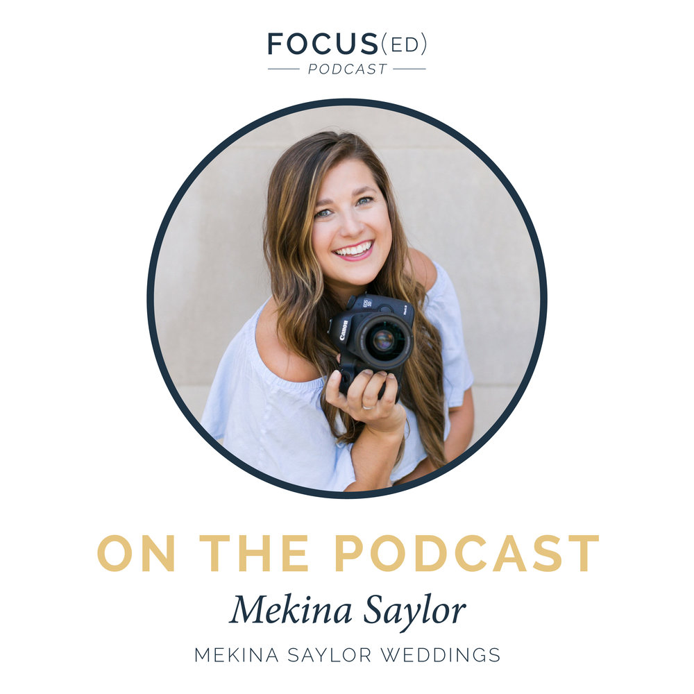 Getting booked as 2nd shooter | Focused Podcast | Mekina Saylor Photography