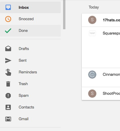 getting to Gmail from Inbox