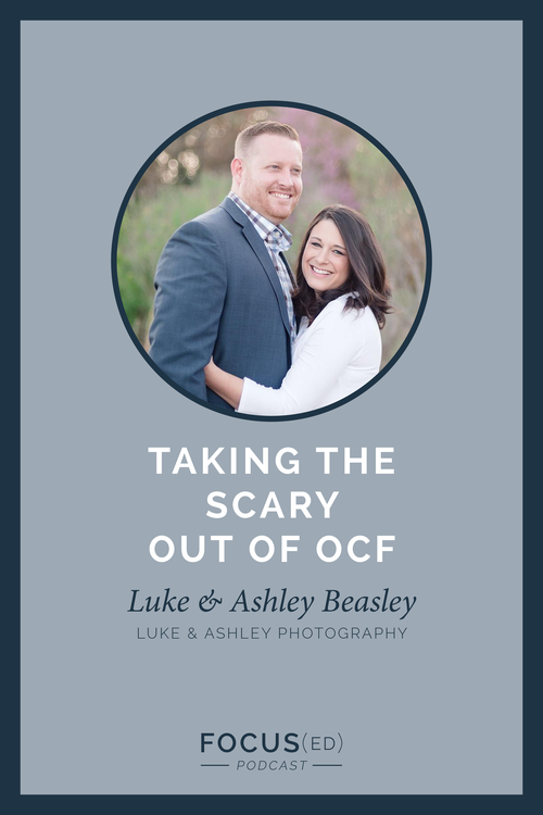 040: Taking the scary out of OCF, Luke & Ashley — cinnamonwolfe co