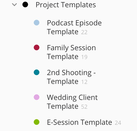 Setting up a template in todoist | using templates in todoist
