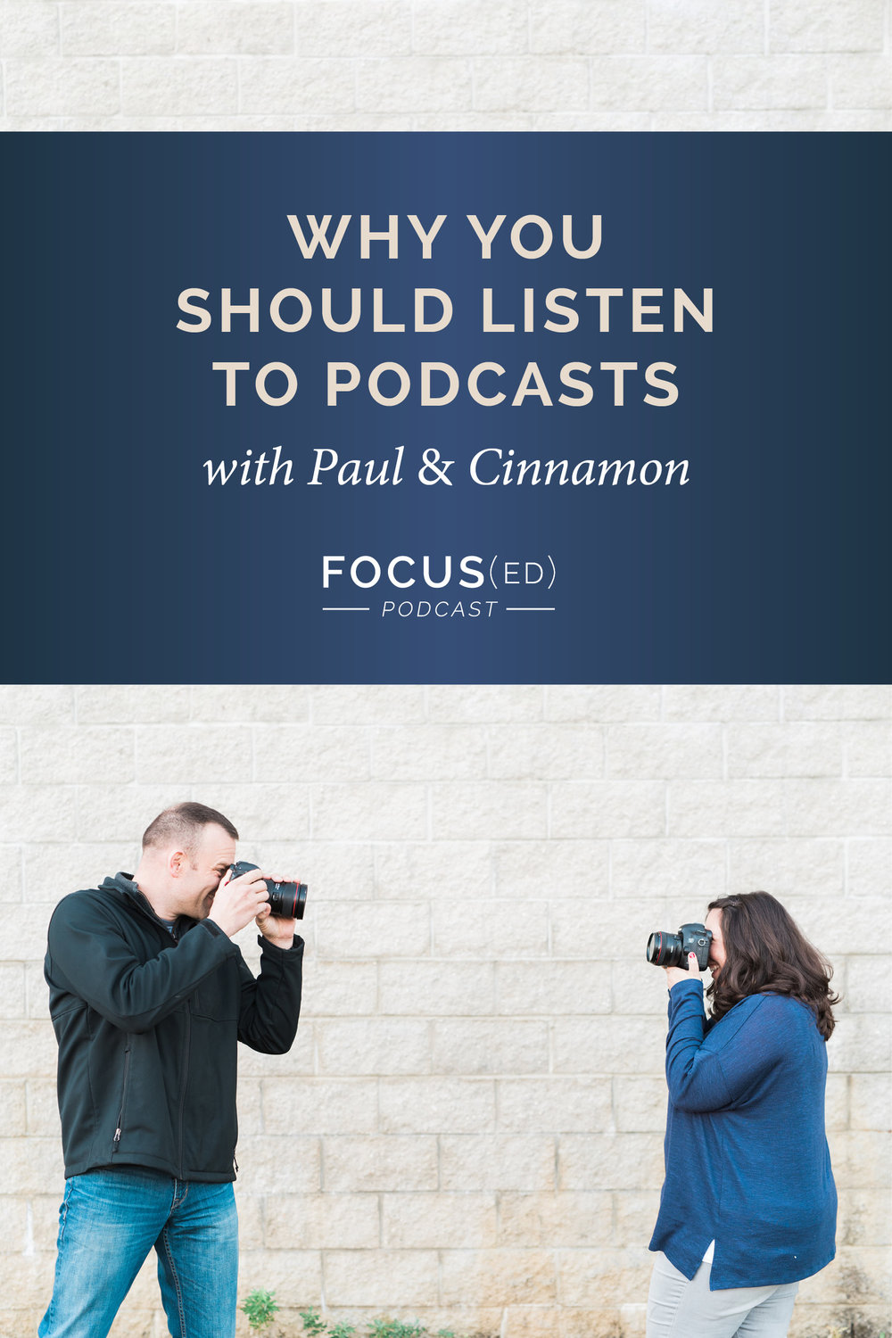 Podcasts are a great way to learn on the go.  |  Focus(ed) Podcast