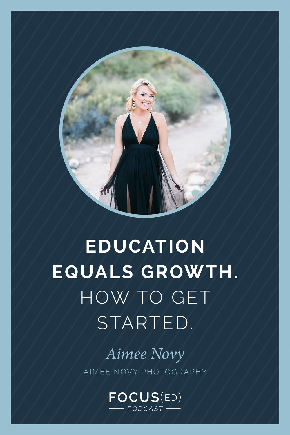 Education equals growth. How to get started with Aimee Novy Photography | Focus(ed) 074