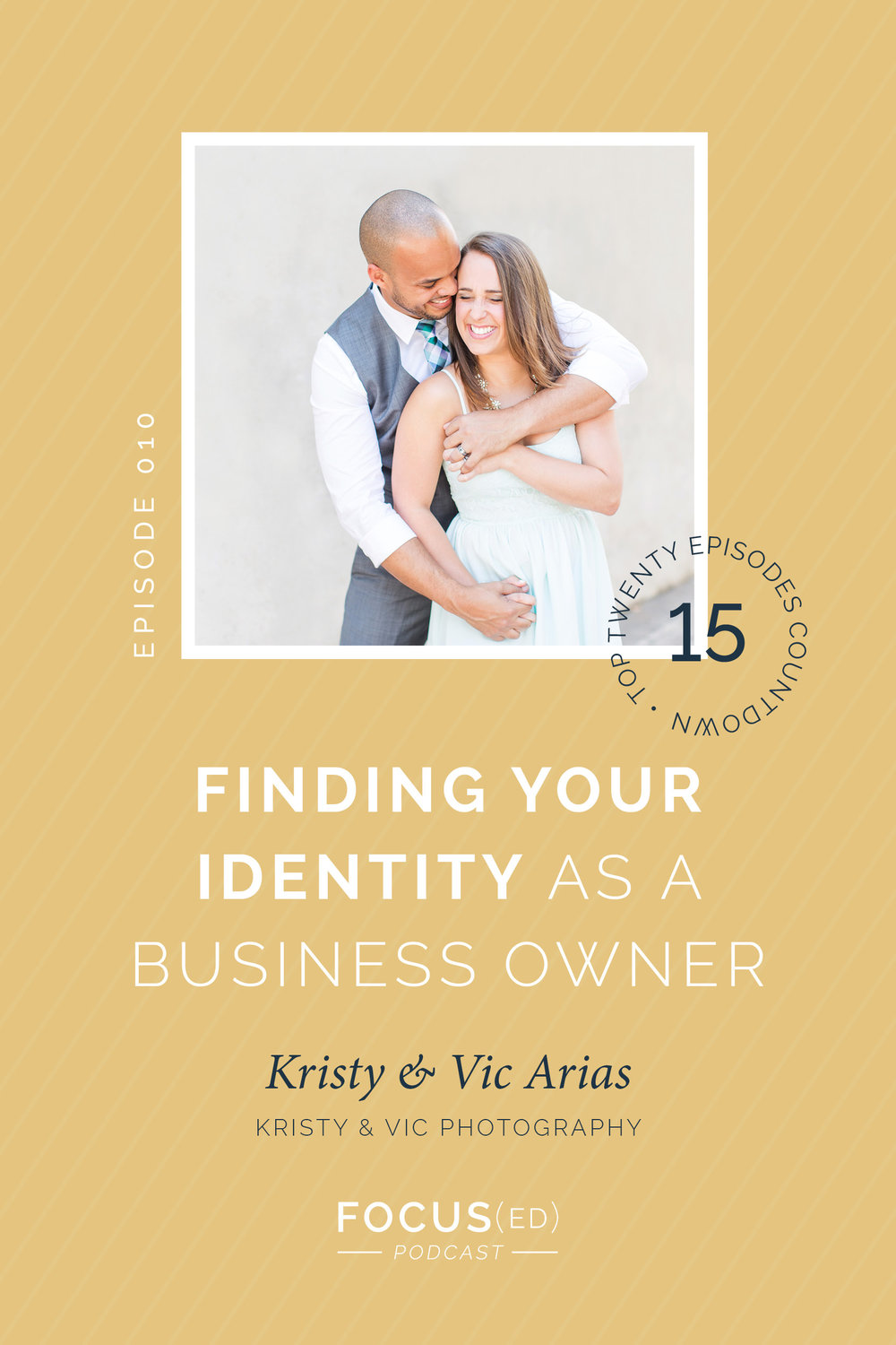 TOP 20: #15 Finding Your Identity in Business with Kristy & Vic | Focus(ed) Podcast