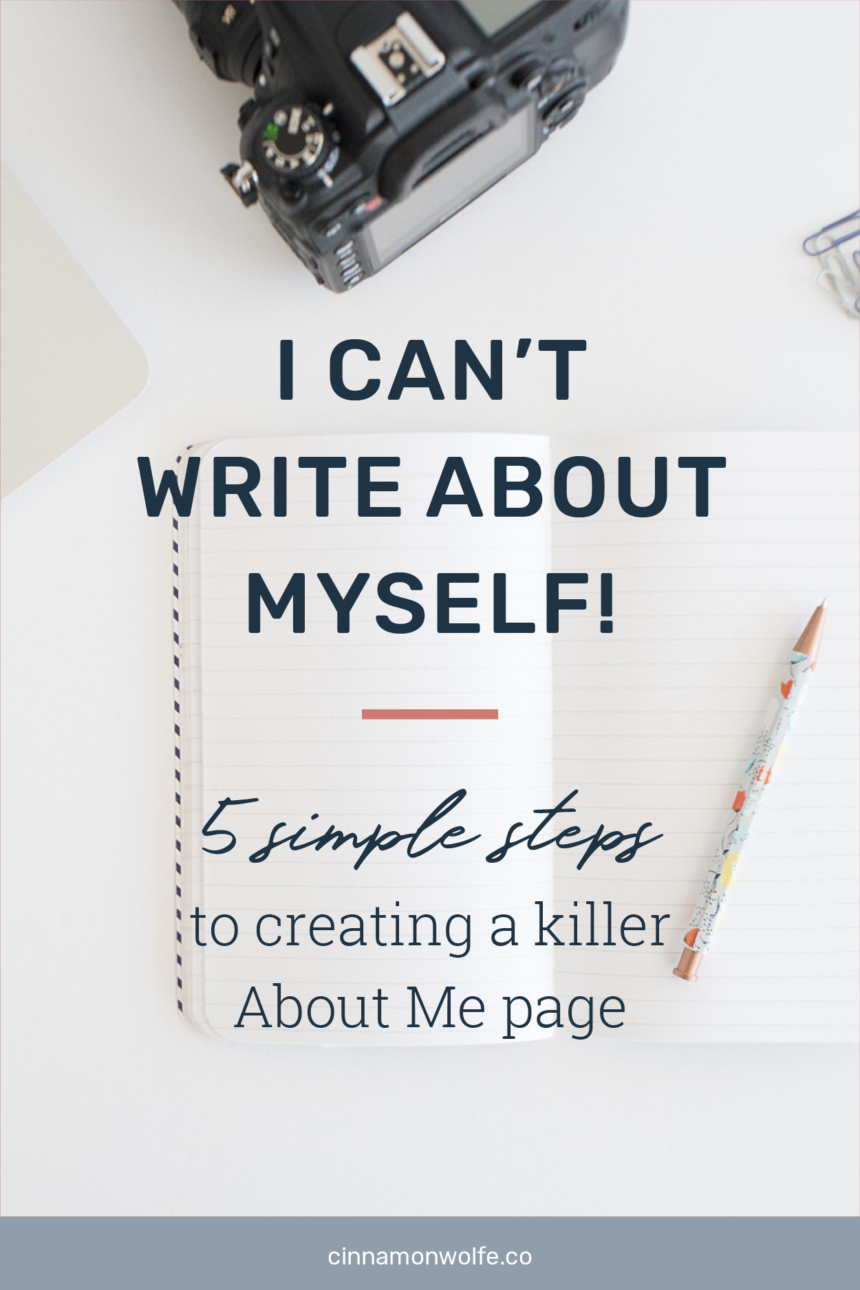 how can i write about myself