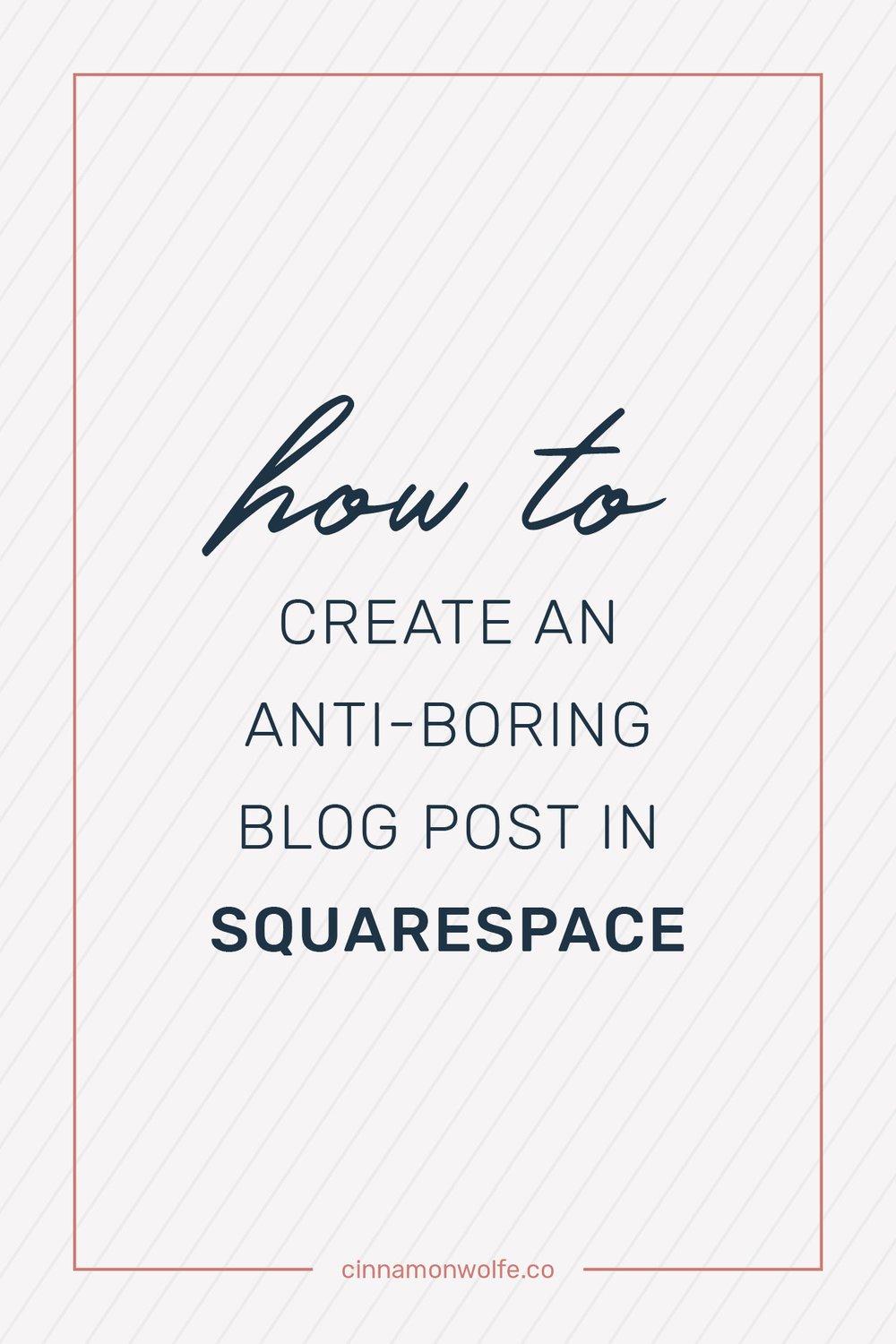 creating an interesting blog post in squaresapce