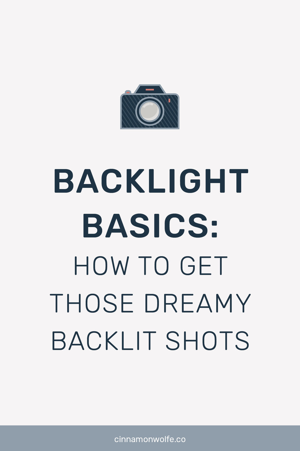 how to take backlit photos
