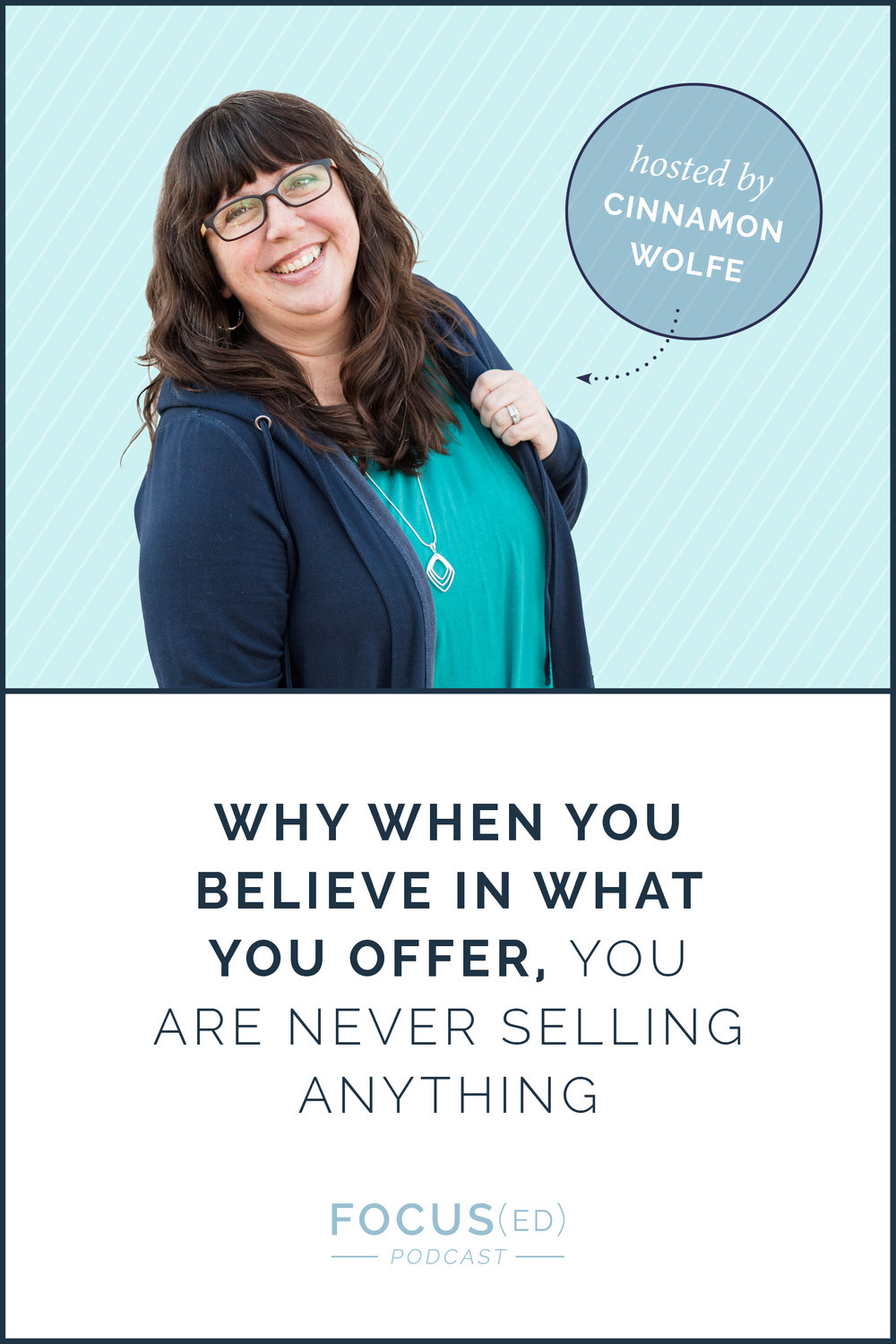 Believe in what you're selling | cinnamonwolfe.co