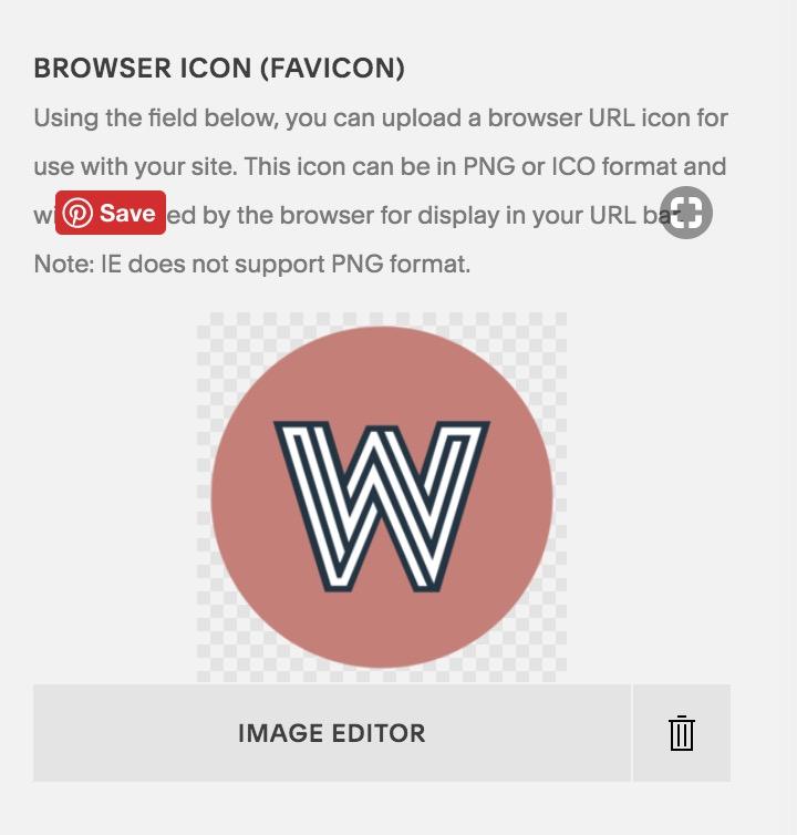 update favicon on Squarespace site