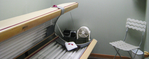 River Looks offers tanning services. Enjoy a warm afternoon on a cold Wisconsin day in one of our tanning beds!