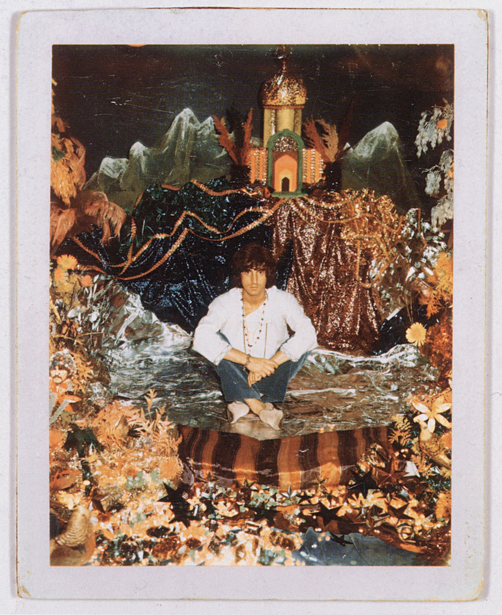 Michael Cooper on the set for Their Satanic Majesties Request, 1967