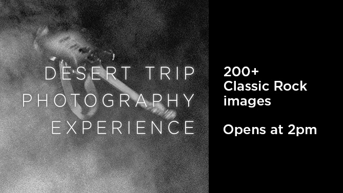 Desert Trip Photography Experience